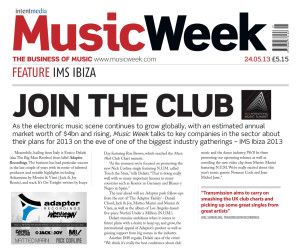 Music Week Magazine talks about us