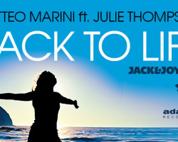 'Back To Life' (OUT NOW ON BEATPORT)