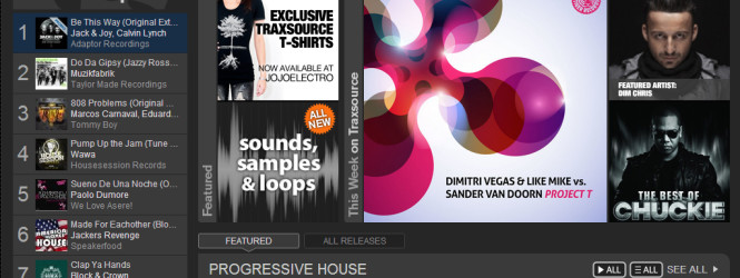 'Be This Way' #1 into Traxsource Prog House Chart!