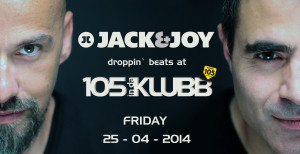 Max Bondino & Luca Loi aka Jack & Joy @ 105 InDaKlubb on Radio 105